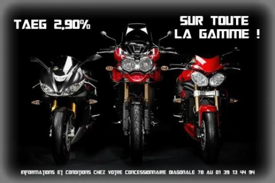 Promo accessoire +TAEG 2,90% sur TOUTE la gamme !